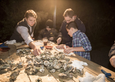 Oyster Roast at River Park - Berkeley Hall Club